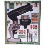 ショッピング自由研究 顕微鏡 M-W4 日本製 クリアー光学