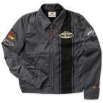 クレイスミス ジャケット スイングトップ ジャンパー メンズ バイク バイカー ファッション アメカジ Clay Smith CHARGING-C グレー_AP-CSY7190CGY-MON