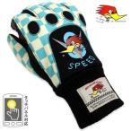 クレイスミス バイク グローブ 防水 防寒 冬用 手袋 ClaySmith TODD チェッカーブルー メール便OK_AR-CSY6178CBL-MON