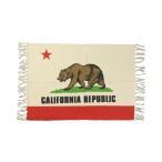 カリフォルニア・リパブリック ラグマット 洗える おしゃれ 玄関マット 室内 屋内 熊 フロアーマット バスマット 綿 メール便OK_FM-389948-SHO