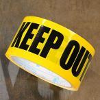 KEEP OUT(立入禁止) 粘着テープ 48mm幅_TP-002-HYS