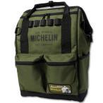 ミシュラン リュック ショルダーバッグ ハンドバッグ ボックス 4WAY MICHELIN オリーブ_BG-230462-M2S