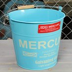 ショッピングバケツ バケツ マーキュリー MERCURY ブルー [おしゃれ/ブリキ/アメリカ]_MC-C118BL-MCR