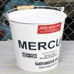 ショッピングバケツ バケツ マーキュリー MERCURY ホワイト [おしゃれ/ブリキ/アメリカ]_MC-C118WH-MCR