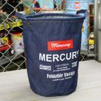 マーキュリー キャンバスバケツ バスケット ゴミ箱 小物入れ 収納 アメリカ アメリカン雑貨 サイズM デニム_MC-MEDEBUM-MCR