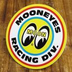 ムーンアイズ ステッカー 車 アメリカン おしゃれ バイク ヘルメット かっこいい ホットロッド MOONEYES レーシングディビジョン メール便OK_SC-DM060-MON