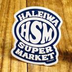 ステッカー ハワイアン 車 アメリカン おしゃれ バイク ヘルメット かっこいい ハレイワスーパーマーケット HSM メール便OK_SC-HSM013-SXW