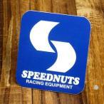 ステッカー 車 アメリカン おしゃれ バイク ヘルメット スケートボード スノーボード かっこいい SPEEDNUTS RACING EQUIPMENT メール便OK_SC-SPD004-SXW