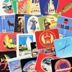 ステッカー セット スーツケース 旅行カバン トラベルステッカー 20枚セット 飛行機 航空 ラゲージラベル WINGS OF THE WORLD メール便OK_SC-211820-HYS