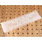 ステッカー 車 アメリカンミリタリーステンシル転写ステッカー 「思い立ったが吉日」 メール便OK_SC-PST015-SXW