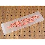 アメリカンミリタリーステンシル転写ステッカー 「笑う門には福来たる」 メール便OK_SC-PST014-SXW