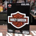 ステッカー バイク ハーレーダビッドソン アメリカン おしゃれ 車 ヘルメット かっこいい バー&シールドエンブレム STICK ONZ メール便OK_SC-DA8657-MON