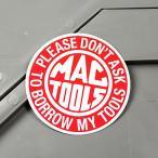 ステッカー マックツールズ MAC TOOLS バイク 車 アメリカン かっこいい 工具 ツール メール便OK_SC-MS060-FEE