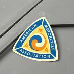 ステッカー AMA バイク 車 アメリカン かっこいい モトクロス アメリカンモーターサイクル協会 トライアングル メール便OK_SC-MS062-FEE