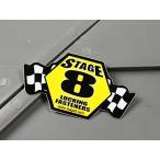 ステッカー STAGE8 ステージ8 車 バイク アメリカン かっこいい 世田谷ベース メール便OK_SC-MS067-FEE