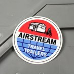 ステッカー エアストリーム キャンピングトレーラー  車 アメリカン かっこいい アウトドア AIRSTREAM メール便OK_SC-MS114-FEE