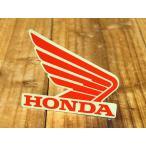 ショッピングホンダ ステッカー ホンダ 車 アメリカン おしゃれ バイク ヘルメット かっこいい HONDA ウイング レッド 右向き メール便OK_SC-R341-TMS