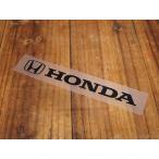 ステッカー ホンダ 車 アメリカン おしゃれ バイク ヘルメット かっこいい HONDA 転写式 Hマーク ロゴ ブラック サイズS メール便OK_SC-R308-TMS