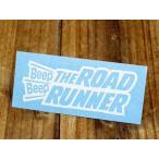 ロードランナー ステッカー ルーニー・テューンズ 車 アメリカン キャラクター バイク 転写 THE ROAD RUNNER トリム ホワイト メール便OK_SC-RR002WH-TST