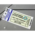 パーキングパーミットステッカー 車 アメリカン 駐車許可 カリフォルニア 裏貼り PARKING PERMIT STICKER カリフォルニア州駐車場 メール便OK_SC-SPS001-HBT
