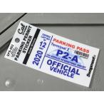 パーキングパーミットステッカー 車 アメリカン 駐車許可 カリフォルニア 裏貼り PARKING PERMIT STICKER ロサンゼルス国際空港 メール便OK_SC-SPS002-HBT