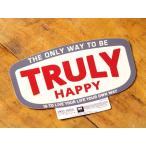 ショッピングステッカー ステッカー アメリカン 世田谷ベース系 「自分の道を見つけて歩いていく事が一番幸せ」 サイズL メール便OK_SC-MOT002L-SXW