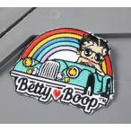 ベティ・ブープ ワッペン アイロン キャラクター セクシー アメカジ アメリカン ワークシャツ アメリカン雑貨 BETTY BOOP アメ車 メール便OK_WP-7509-SHO