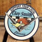 クレイスミス ワッペン Clay Smith CLASSIC [アイロン/アメリカ] メール便OK_WP-CSYC133-MON