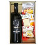 ギフト スペイン  赤ワイン&チーズとピコス5種セット