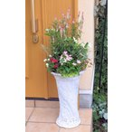 背の高い鉢のおまかせアレンジ季節のお花の寄せ植えtuna01 / ギャザリング寄せ植え / お祝い / お誕生日 / プレゼント / ギフト /