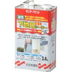 サンデーペイント 油性 下地用強化シーラー 〈ビニル樹脂系シーラー〉 透明クリアー 3400ml  シーラー下塗り剤