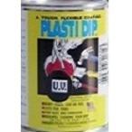 プラスティディップ本舗 UV黒)1リットル油性艶消し 缶入、ディッピング、刷毛塗り、ローラー塗り、薄めてガン吹き。 2日以内に発送します。