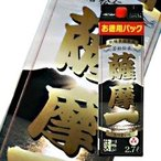 芋焼酎 若松酒造 薩摩一 25度 2.7L 紙パック 2700ml