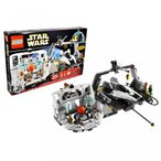レゴ Lego Year 2009 Star Wars 10th Anniversary Classic Series Limited Edition Set #7754 - HOME ONE MON CALAMARI STAR CRUISER with Command Center,