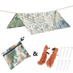 "キャンプ用品 XTACER 118""x118"" Tactical Camouflage Footprint Tarp Groundsheet Camping for Tent Footprint Beach Picnic Mat Blank.."