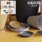アマブロ アートストーン ソーサー Mサイズ amabro Art Stone Saucer ブラック グレー ブラウン プランター 受け皿 受皿 鉢皿 鉢受 おしゃれ