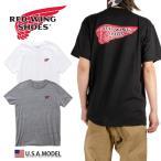 レッドウィング Tシャツ REDWING Tシャツ メンズ レディース ストリート アメカジ  大きいサイズ ブラック 黒