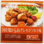 国産鶏からあげレモンソルト味 260g 冷凍食品を税込4,320円以上のご購入で送料無料!
