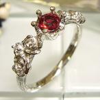 Yahoo!PLEJOUR (プレジュール)プラチナリング レディッシュサファイア ダイヤモンド 指輪