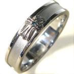 ファランジリング ピンキーリング シルバー クロスリング ダイヤモンド リング 結婚指輪 安い ペアリング