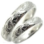 ファランジリング 結婚指輪 プラチナ リング ハワイアンジュエリー マリッジリング