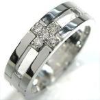 ファランジリング クロス シルバー ピンキーリング キュービックジルコニア 結婚指輪 安い