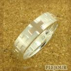 ファランジリング ピンキーリング クロスリング シルバー クロス リング 結婚指輪 安い