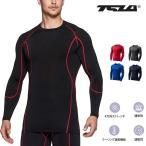 テスラTESLA オールシーズンラウンドネック スポーツシャツUVカット・吸汗速乾 コンプレッションウェア R11