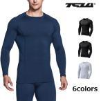 TESLA テスラ コンプレッションウェア ラウンドネック長袖 冬用起毛 [防寒・保温]インナーR34