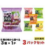 オリヒロ ぷるんと蒟蒻ゼリーパウチ 6P×3袋セット  こんにゃくゼリー 選べる6種類 500...