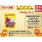 スッパイマン 甘梅一番 種なし 17g×6袋 沖縄では定番の乾燥梅干 熱中症対策や沖縄土産 送料無料 ポスト投函便  1000円ポッキリ