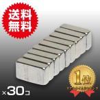 小さく薄い 超強力 磁石30個セット 長方形ネオジウム磁石 マグネット  5mm×3mm×1.5mm 鳩よけ