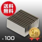 小さく薄い 強力 磁石 100個セット 長方形 ネオジウム マグネット  20mm×10mm×2mm 鳩よけ