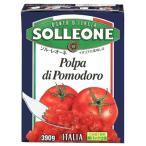 SOLLEONE ソルレオーネ カットトマト テトラ紙パック 390g
